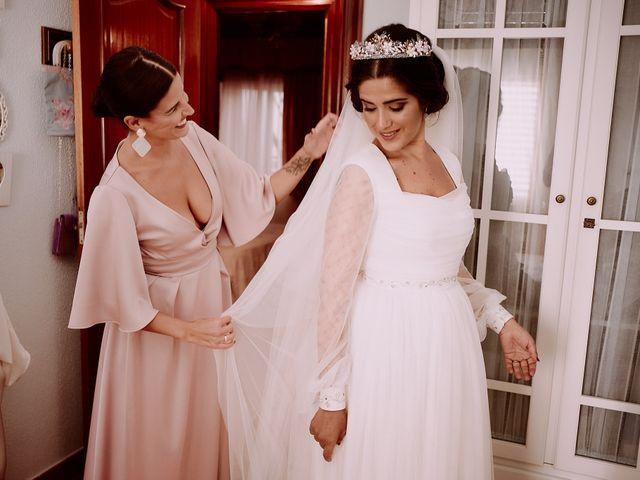 La boda de Manu y Lourdes en Gibraleon, Huelva 54