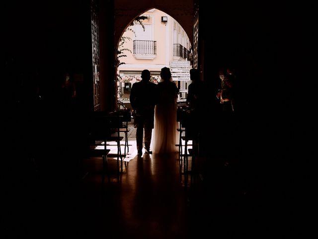 La boda de Manu y Lourdes en Gibraleon, Huelva 66