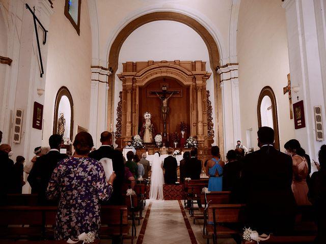 La boda de Manu y Lourdes en Gibraleon, Huelva 74