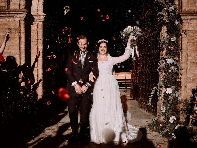 La boda de Manu y Lourdes en Gibraleon, Huelva 94