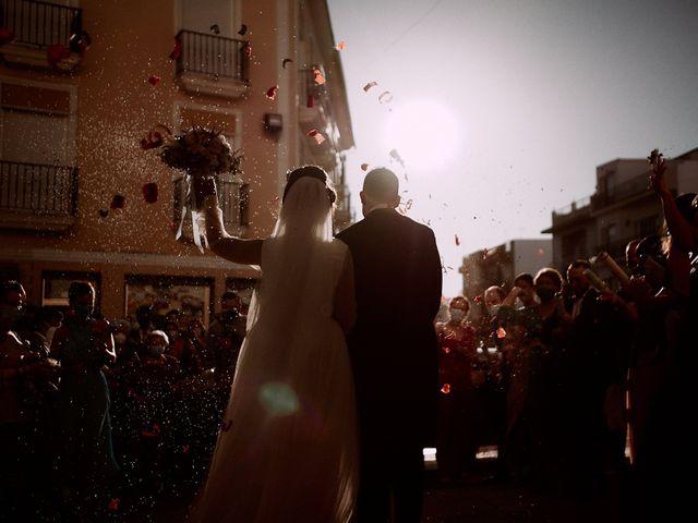 La boda de Manu y Lourdes en Gibraleon, Huelva 95
