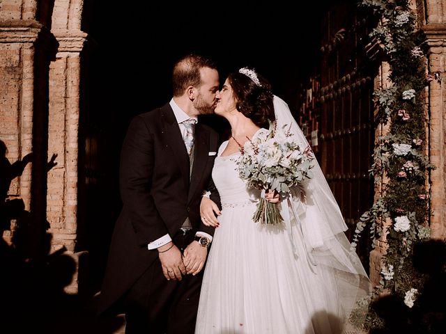 La boda de Manu y Lourdes en Gibraleon, Huelva 98
