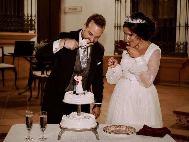La boda de Manu y Lourdes en Gibraleon, Huelva 123