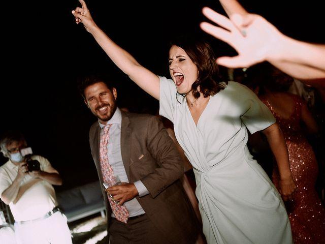La boda de Manu y Lourdes en Gibraleon, Huelva 140