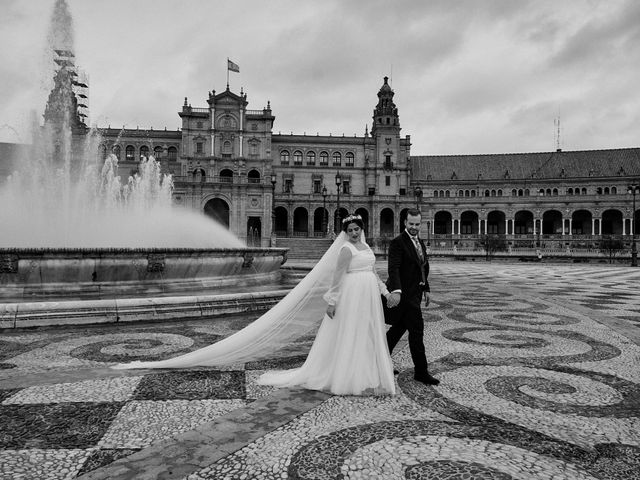 La boda de Manu y Lourdes en Gibraleon, Huelva 145