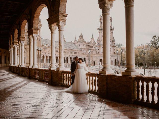 La boda de Manu y Lourdes en Gibraleon, Huelva 2