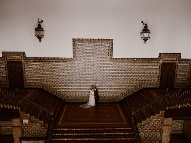 La boda de Manu y Lourdes en Gibraleon, Huelva 170