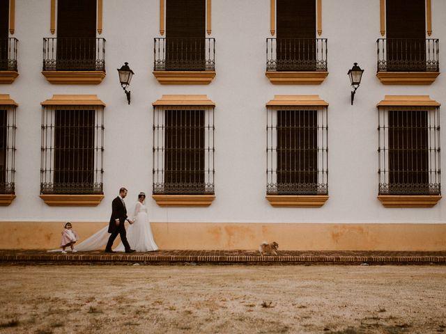 La boda de Manu y Lourdes en Gibraleon, Huelva 172