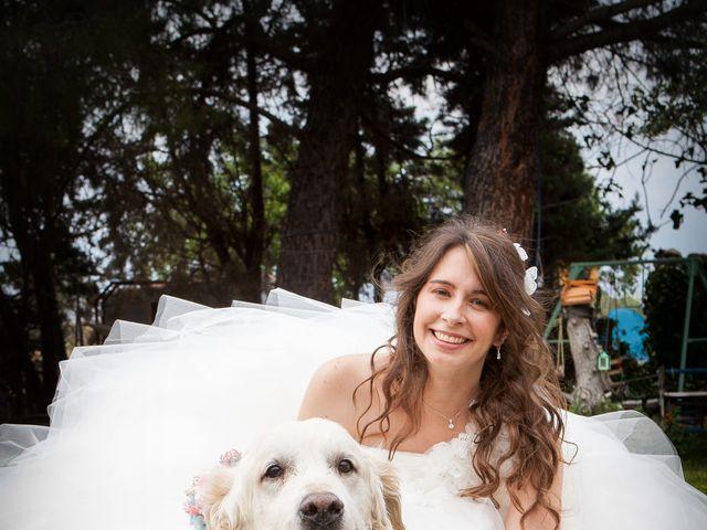 La boda de Adrian y Nadia en Alalpardo, Madrid 10