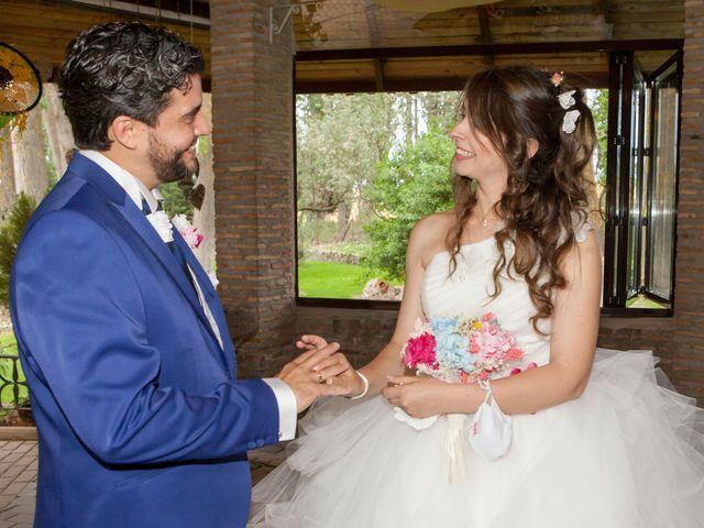 La boda de Adrian y Nadia en Alalpardo, Madrid 22