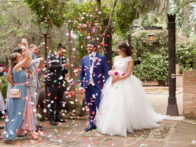 La boda de Adrian y Nadia en Alalpardo, Madrid 1