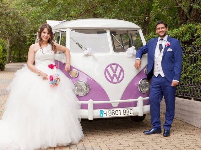 La boda de Adrian y Nadia en Alalpardo, Madrid 25