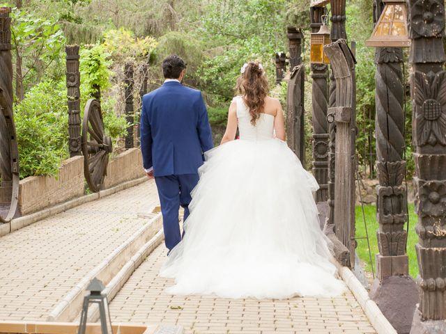 La boda de Adrian y Nadia en Alalpardo, Madrid 2