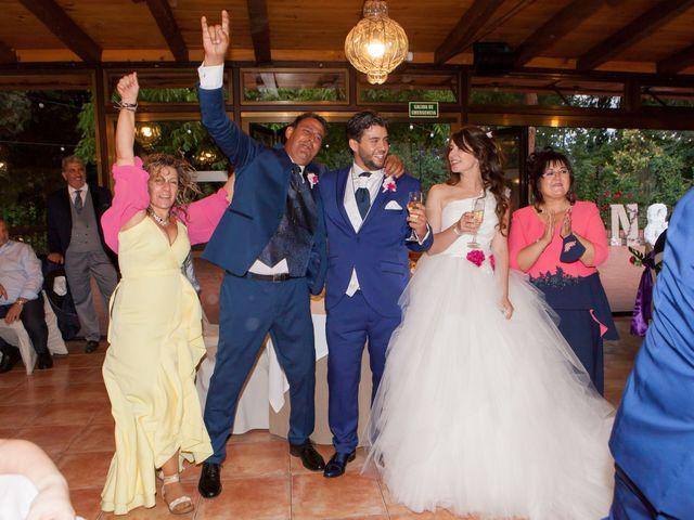 La boda de Adrian y Nadia en Alalpardo, Madrid 35