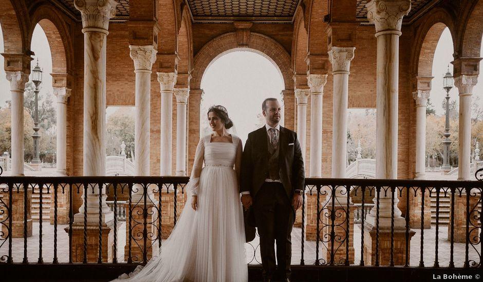 La boda de Manu y Lourdes en Gibraleon, Huelva