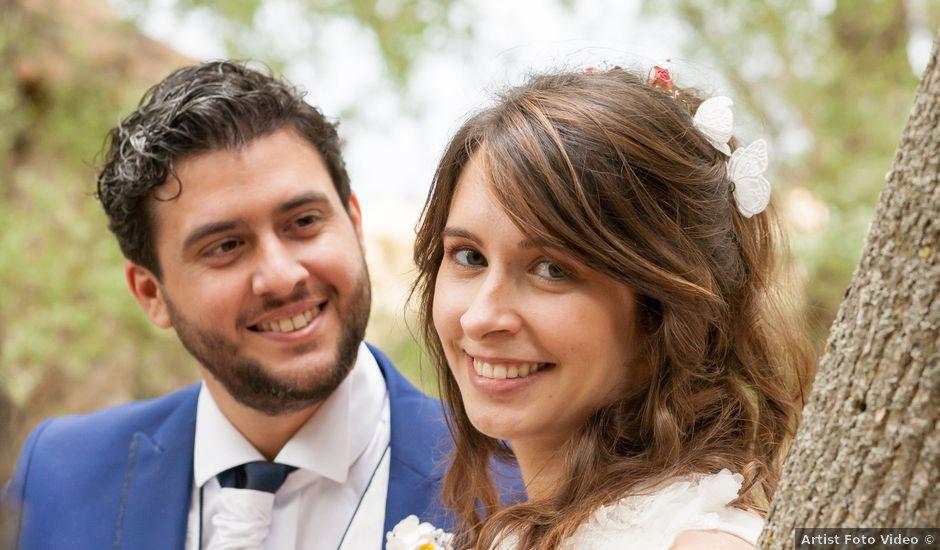 La boda de Adrian y Nadia en Alalpardo, Madrid