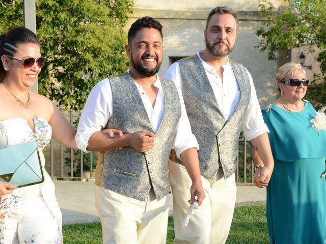 La boda de diego y ferando en Caspe, Zaragoza 6