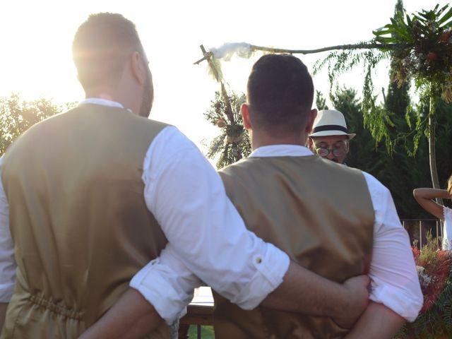 La boda de diego y ferando en Caspe, Zaragoza 7
