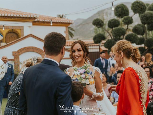 La boda de Julio  y Raquel en Granada, Granada 53