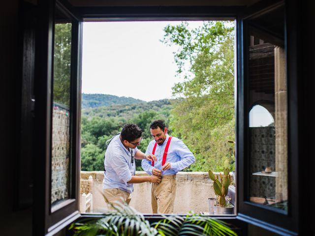 La boda de Daniel y Delia en Santa Pau, Girona 17