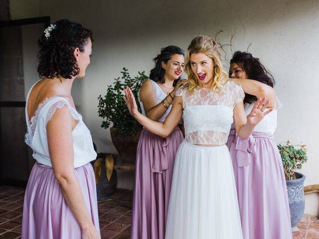 La boda de Daniel y Delia en Santa Pau, Girona 38