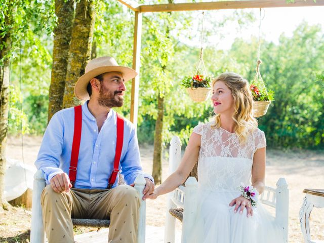 La boda de Daniel y Delia en Santa Pau, Girona 62