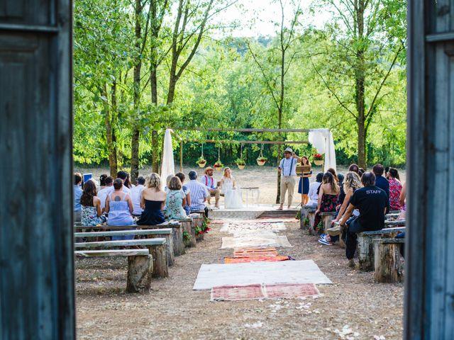 La boda de Daniel y Delia en Santa Pau, Girona 67