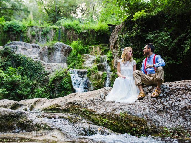 La boda de Daniel y Delia en Santa Pau, Girona 106