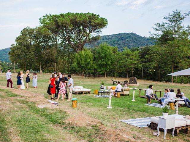 La boda de Daniel y Delia en Santa Pau, Girona 112