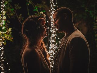 La boda de Flor y Abdu