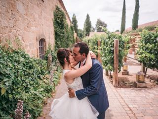 La boda de Kim y Diego