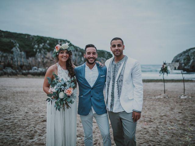 La boda de Abdu y Flor en Llanes, Asturias 23