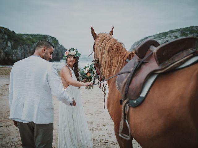 La boda de Abdu y Flor en Llanes, Asturias 26