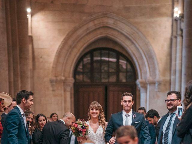 La boda de Diego y Kim en Valverdon, Salamanca 22