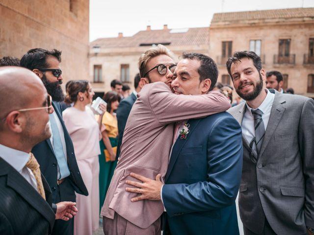 La boda de Diego y Kim en Valverdon, Salamanca 36