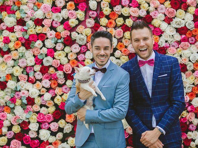 La boda de Germán y Tomás