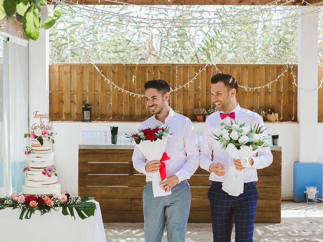 La boda de Tomás y Germán en Valencia, Valencia 52