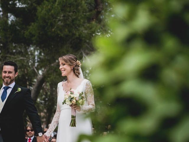 La boda de Borja y Teresa en Riba-roja De Túria, Valencia 42