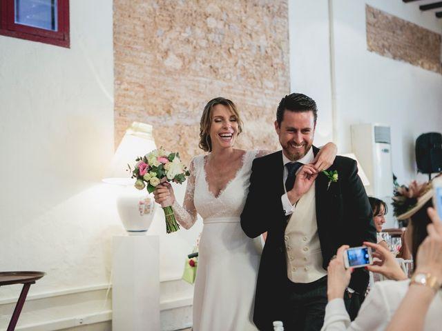 La boda de Borja y Teresa en Riba-roja De Túria, Valencia 81