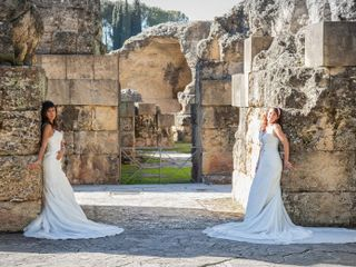 La boda de Yasmina y Aurora