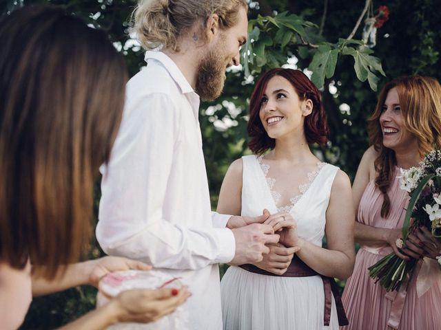 La boda de Mikkel y Ari en Llora, Girona 44
