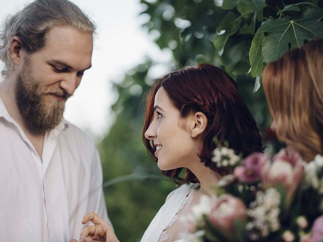 La boda de Mikkel y Ari en Llora, Girona 46