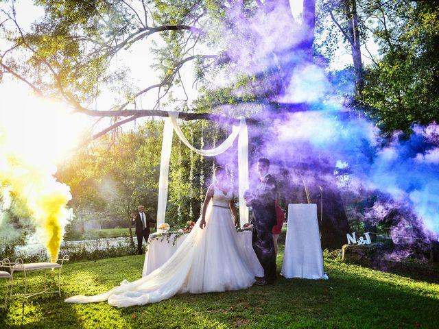 La boda de Noelia y Javier en Valdastillas, Cáceres 77