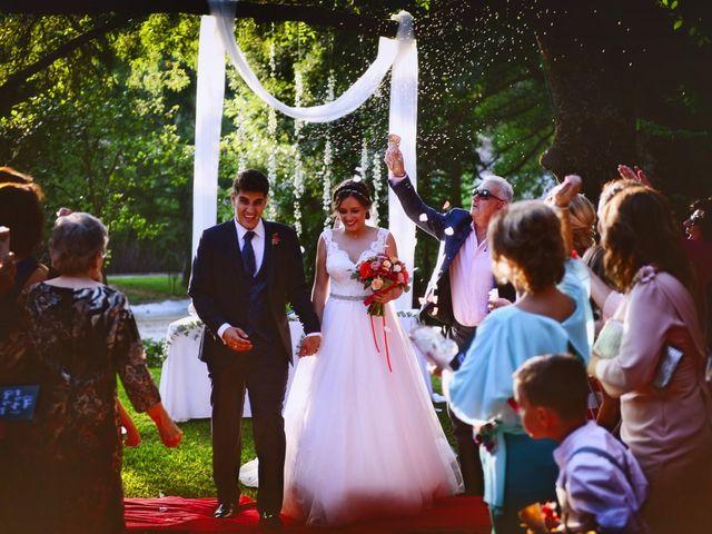 La boda de Noelia y Javier en Valdastillas, Cáceres 78