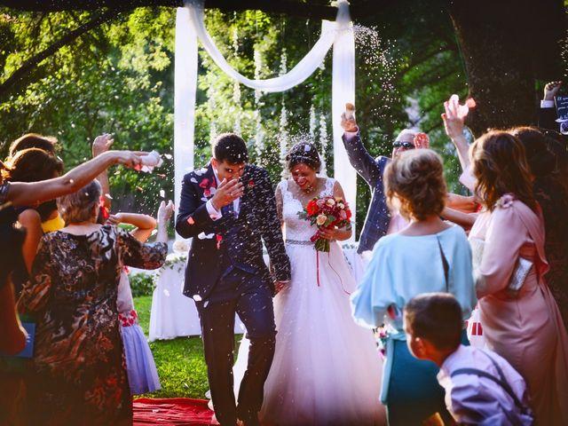 La boda de Noelia y Javier en Valdastillas, Cáceres 79