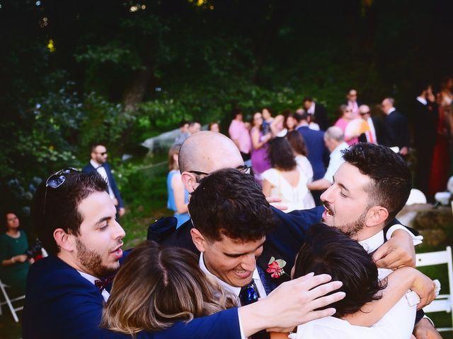La boda de Noelia y Javier en Valdastillas, Cáceres 82