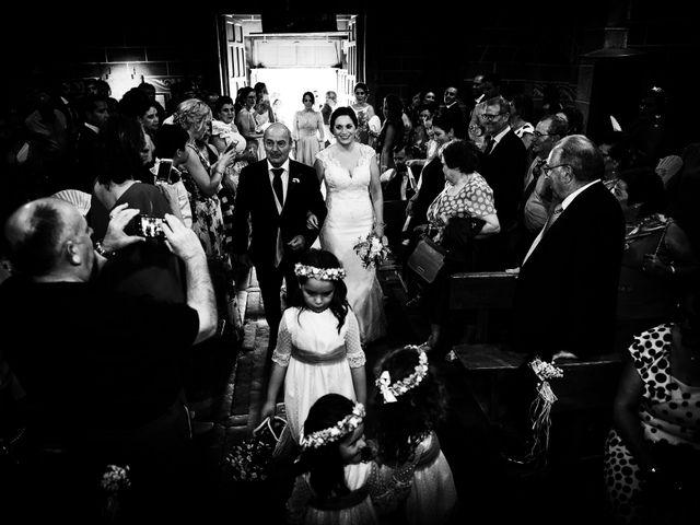 La boda de Elvira y Jonatan en Cabezabellosa, Cáceres 46