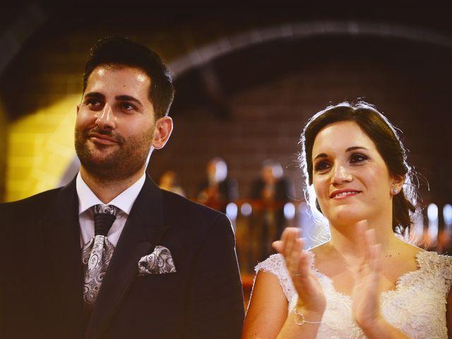 La boda de Elvira y Jonatan en Cabezabellosa, Cáceres 56