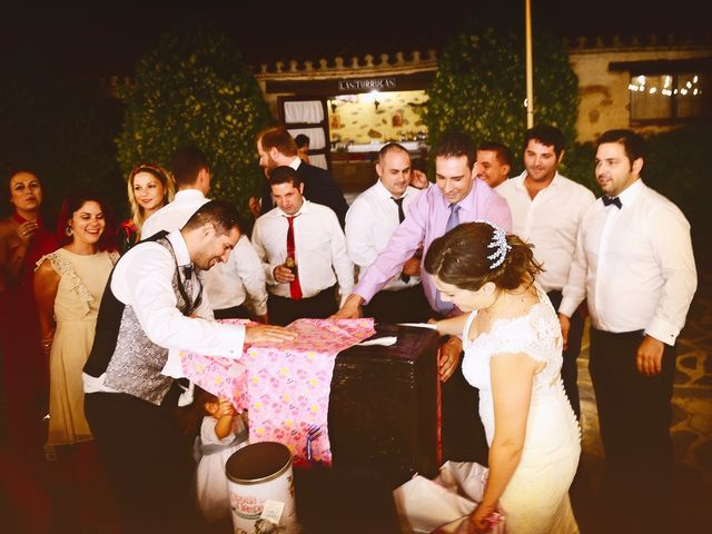 La boda de Elvira y Jonatan en Cabezabellosa, Cáceres 76
