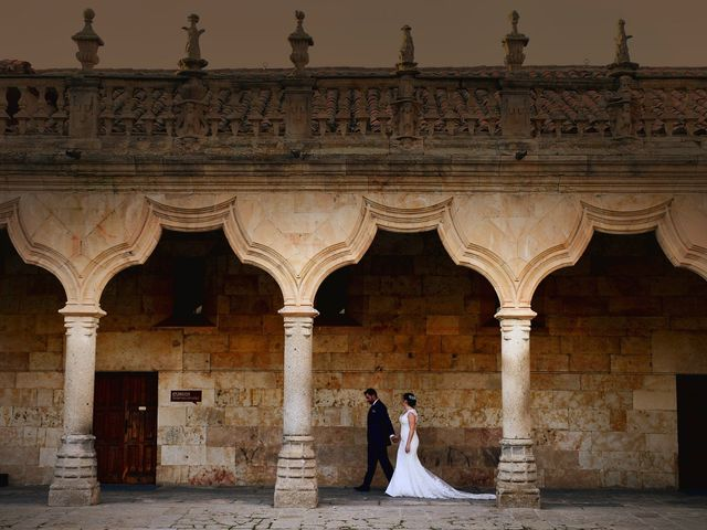La boda de Elvira y Jonatan en Cabezabellosa, Cáceres 93